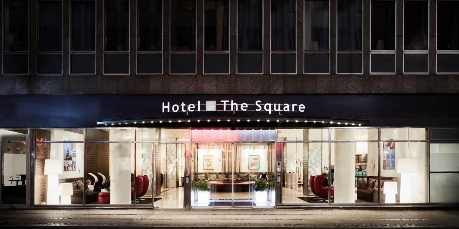 The Square Hotel facade